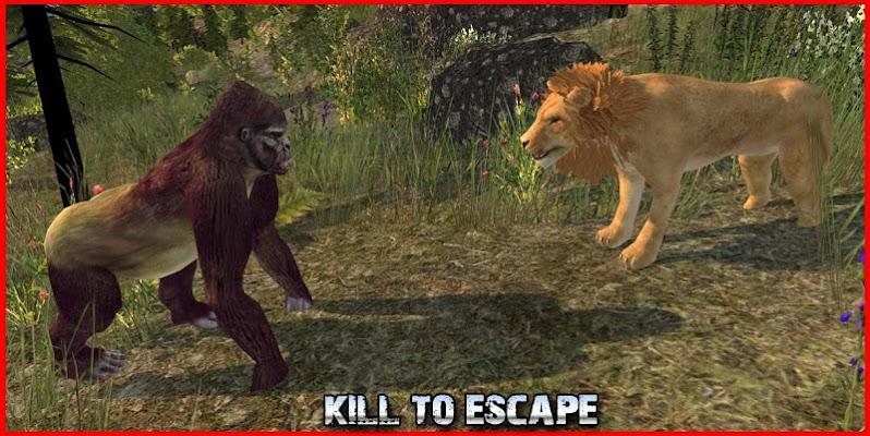 Psycho Gorilla Simulator - screenshot