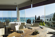 The view from Mirazur, the French eatery recently voted the World's Best Restaurant.