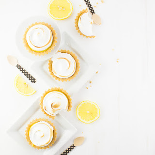 Lemon Ginger Meringue Tartlets