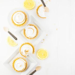 Lemon Ginger Meringue Tartlets