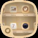 Wooden Style - Solo Theme icon