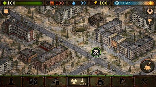Day R Survival Premium Mod Apk 1.665 (No Ads + 1000 Caps) 7