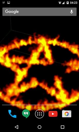 Pentagram Video Wallpaper  screenshots 1