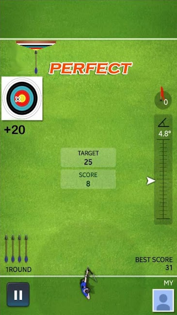 #10. Archery Ace (Android)