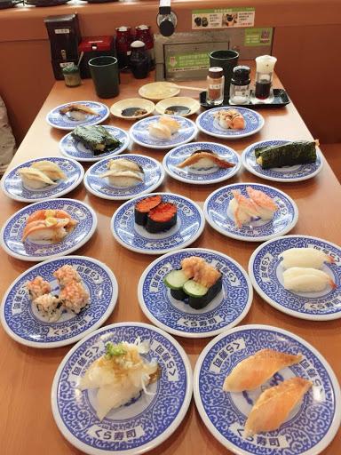 今天新發現鮮蝦天婦羅手卷好好吃😋 方便快速用餐的地方👍