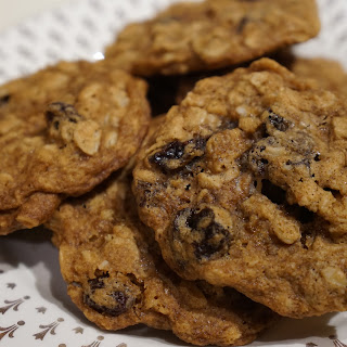 Oatmeal Raisin Cookies.