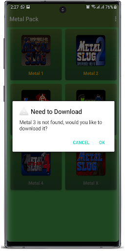 Metal Pack apkslow screenshots 4
