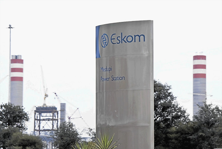 Eskom Medupi Power Station.
