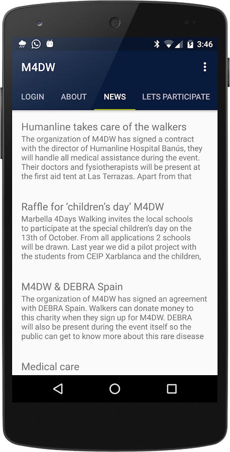 Marbella 4 Days Walking- screenshot