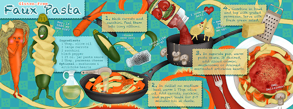 Photo: Illustrated Recipe (Book Spread) :: © Kim Buchheit