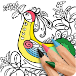 Coloring Expert - Colouring Pages App For All Ages Icon