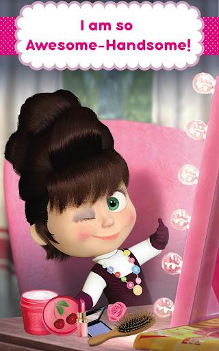 Masha and the Bear: Hair Salon and MakeUp Games 1.1.8 screenshots 18