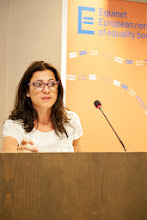 Photo: Sandra Ribeiro, Moderator of Equinet Gender Working Group, President of the Portuguese Commission for Equality in Labour and Employment