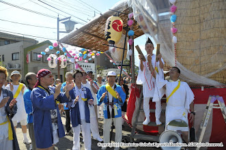 Photo: 【平成21年(2009) 本宮】  大当番による三本締めで渡御開始。
