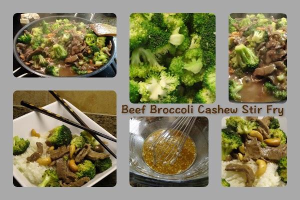 Beef Broccoli Cashew Stir Fry Recipe