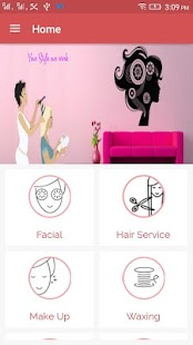 myhome salon- screenshot thumbnail