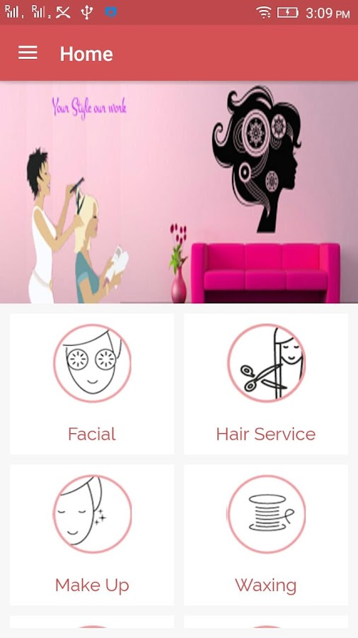 myhome salon- screenshot
