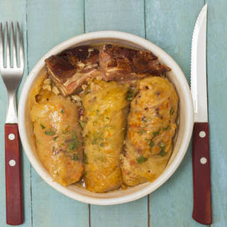 Ground Beef Stuffed Cabbage Rolls.