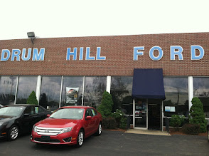 Photo: Drum Hill Ford in Lowell, MA proudly displaying their BBB Accreditation.