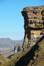 Photo: The Brandwag (Sentinel), Golden Gate Highlands National Park (South Africa).