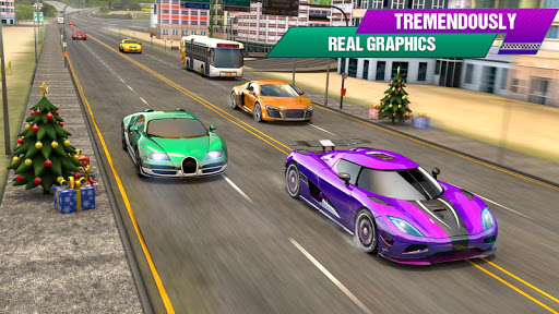 Crazy Car Traffic Racing Games 2020: New Car Games apklade screenshots 2