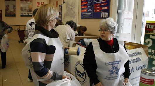 El Banco de Alimentos busca 5.000 voluntarios para la Gran Recogida