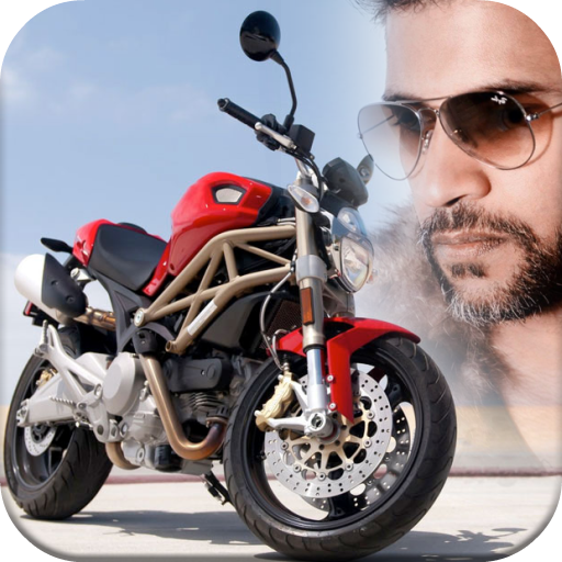 Motor Bike Photo Editor Icon