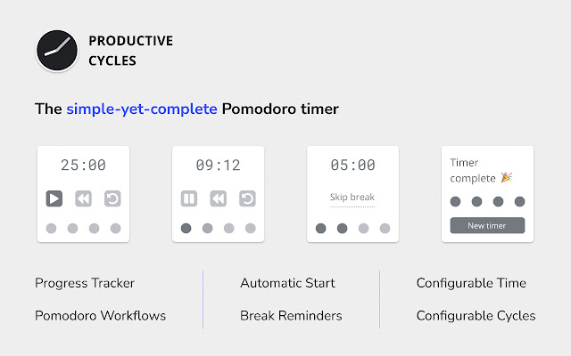 Productive Cycles