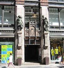 Photo: Helsinki shop entrance