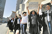 Unemployed graduates protest as part of the #HireAGraduate campaign. Politicians moan about the lack of jobs but say nothing about making the hard decisions that need to be made to turn the tide.