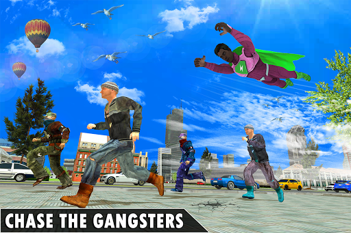 Black Rope Hero Vegas Mafia Superhero Crime Battle screenshot 3