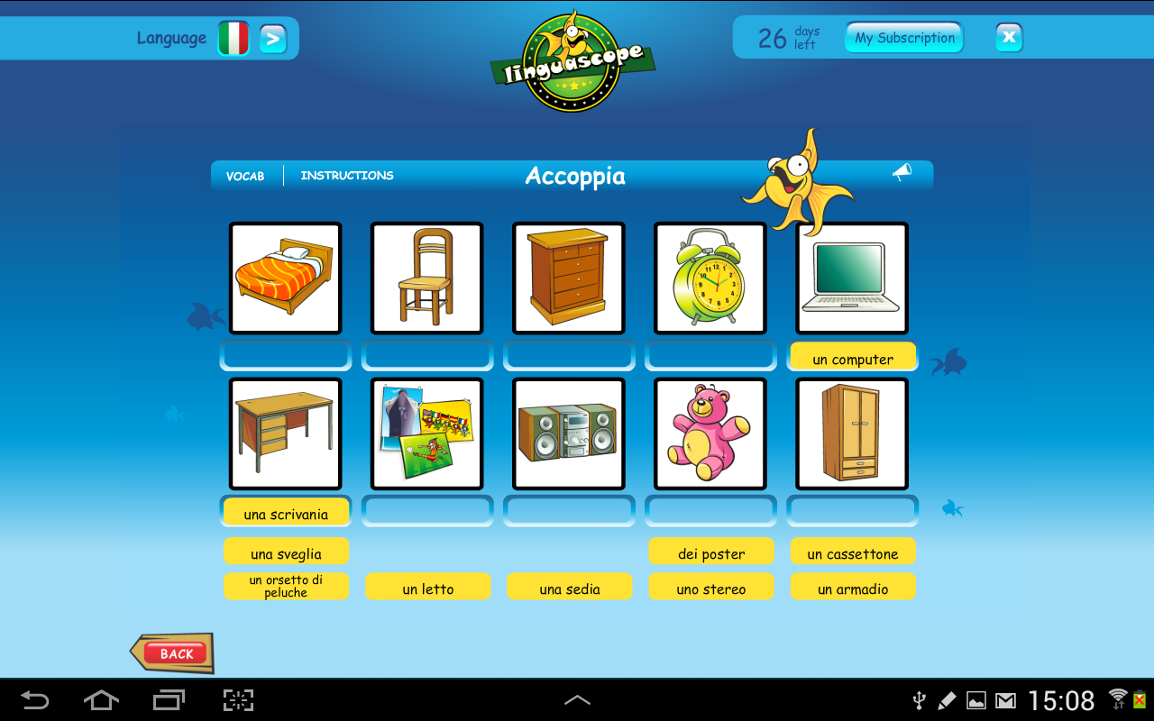 Linguascope Beginners Italian- screenshot
