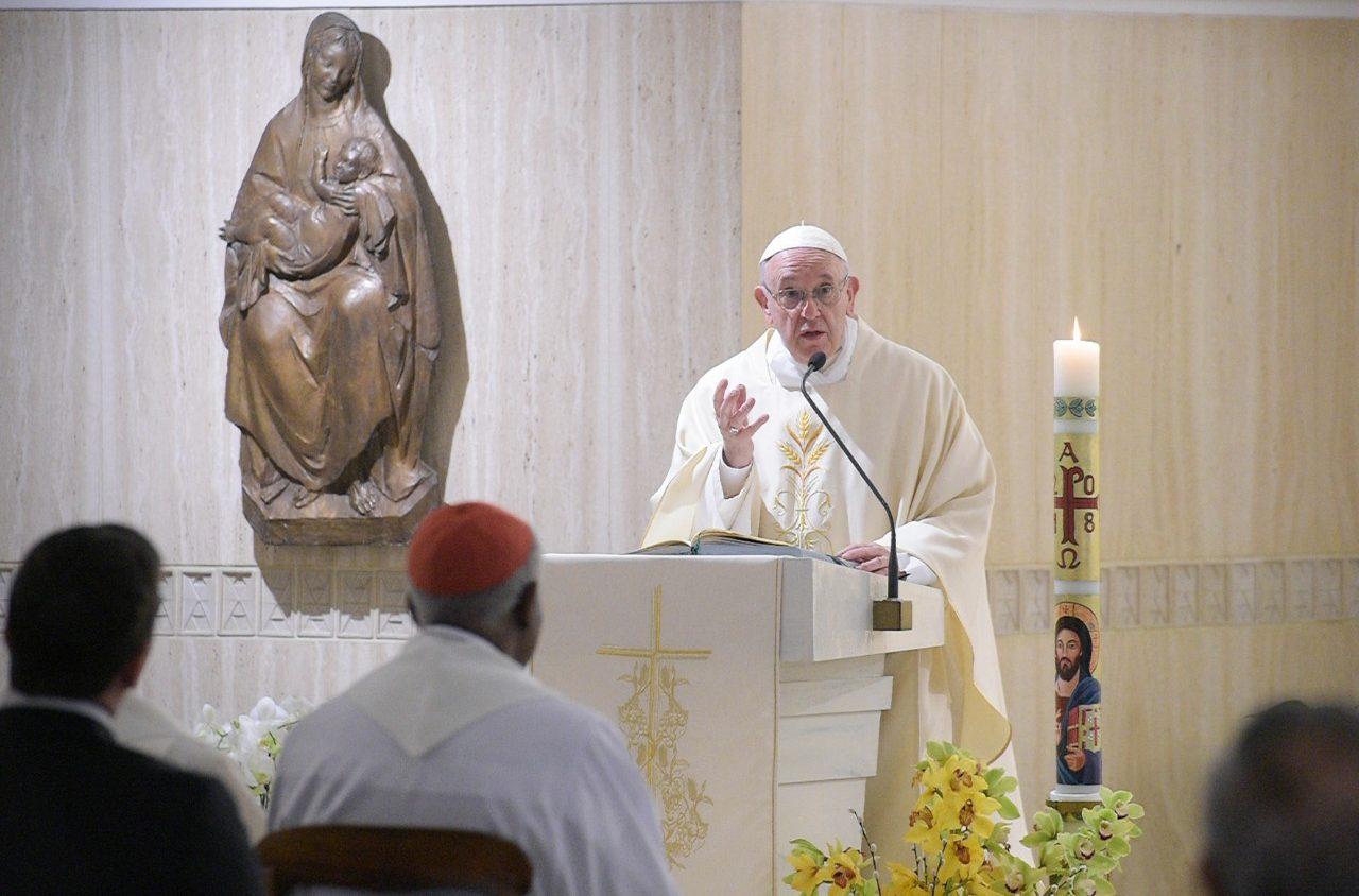 Bài giảng Lễ sáng của Đức Thánh Cha: Đừng đối thoại với quỷ, hãy tránh xa nó