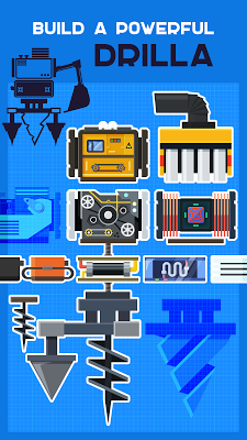 Drilla — crafting game - screenshot