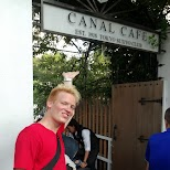 matt at the Canal Cafe - since 1918 in Chiyoda, Tokyo, Japan