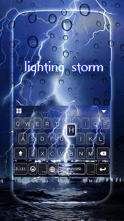 Lighting Storm Kika Keyboard 45.0 screenshot 1272116