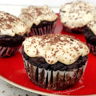 Black Bean Chocolate Fudge Muffin.
