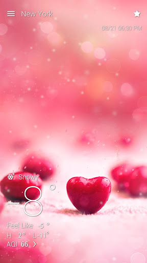 Valentines Day Live Background