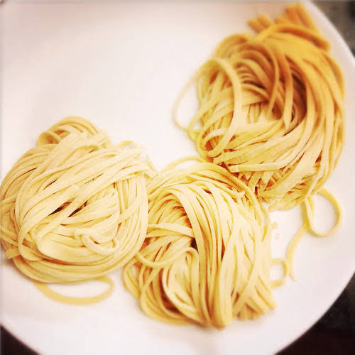 Homemade, Egg Pasta, recipe, make your own, pasta, dough, 自製, 雞蛋麵, 麵, 蛋麵