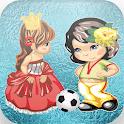 princess vs amela ice soccer icon