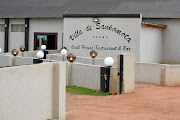 Villa de Sankomota Grill House Restaurant & Bar in Jericho near Brits in North West.