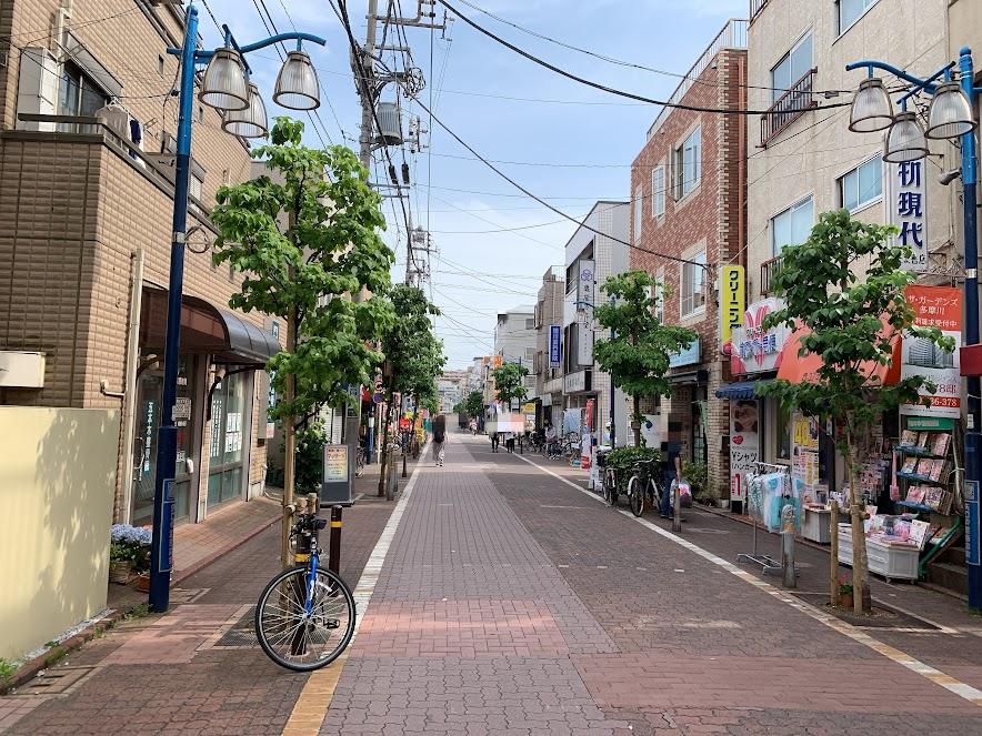 矢口渡商店街
