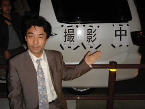 Photo: 2005年10月20日 深夜の撮影  短編ホラー「晩餐」の追加撮影 かなり眠い状態(にはみえないかも・・・) 撮影は朝まで続く・・・