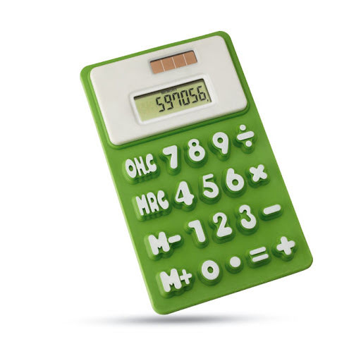 Printed Flexi Calculator