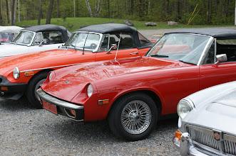 Photo: MG et Triumph heureuses de se retrouver après un long hiver