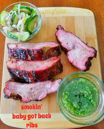 Smokin' Baby Got Back Ribs! Recipe