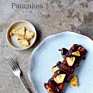 Chocolate and Rye Pancakes