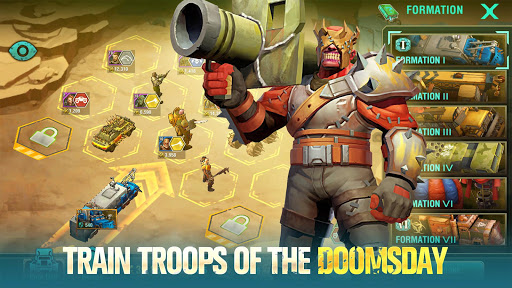 Doom & Dawn - Survival War 1.9.4 APK MOD screenshots 2
