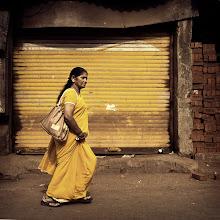 Photo: A splash of bright colour in Mumbai, India. www.michiel-delange.com #streetphotography  #streetphotographers