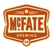 "Logo of McFate ""Easy A"" Amber Ale"